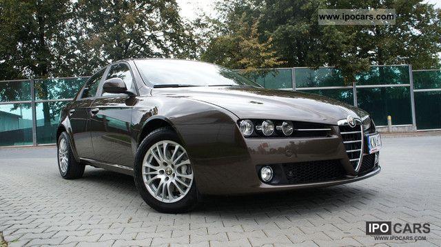2009 Alfa Romeo  159 1.9 JTDM VDK Designe NAVI Gwaranc Limousine Used vehicle photo