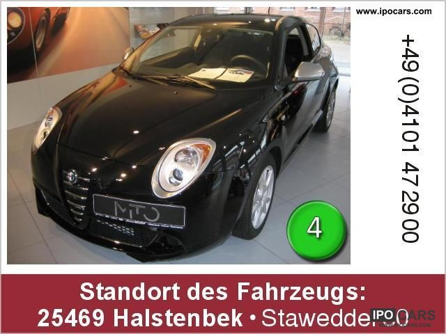 2011 Alfa Romeo  MiTo 1.4 Turismo TCT twin clutch gearbox Limousine Demonstration Vehicle photo