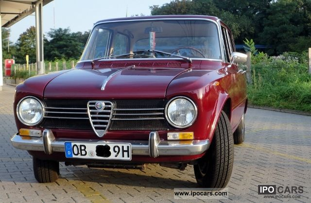 Alfa Romeo  Giulia 1300 TI / classic cars 1968 Vintage, Classic and Old Cars photo