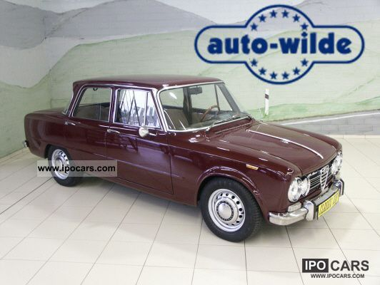 Alfa Romeo  Giulia Super, 1600 S 1969 Vintage, Classic and Old Cars photo