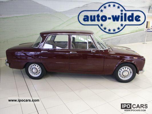 1969 alfa romeo giulia super 1600 s car photo and specs. Black Bedroom Furniture Sets. Home Design Ideas