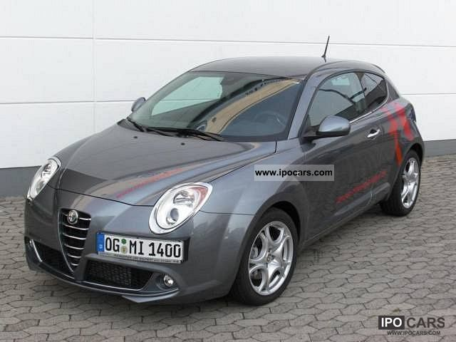 2009 Alfa Romeo  Mito 1.4 16V Turismo TB, sport and comfort Pake Limousine Demonstration Vehicle photo