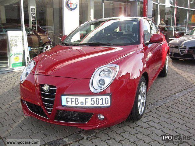 2011 Alfa Romeo  MiTo Turismo 4.1 Multi Air Doppelkupl TCT-switching Limousine Used vehicle photo