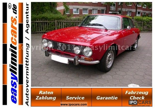 Alfa Romeo  GTV 2000 Bertone classic car with H-plates, top 1976 Vintage, Classic and Old Cars photo