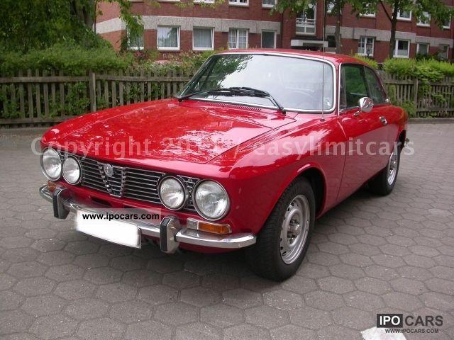Alfa Romeo Gtv Bertone Classic Car With H Plates Top