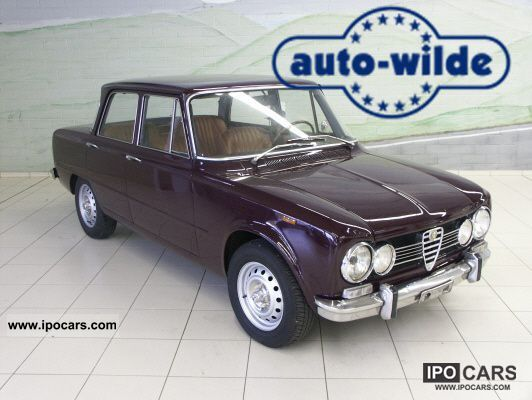 Alfa Romeo  Giulia Super, 1.3 1974 Vintage, Classic and Old Cars photo