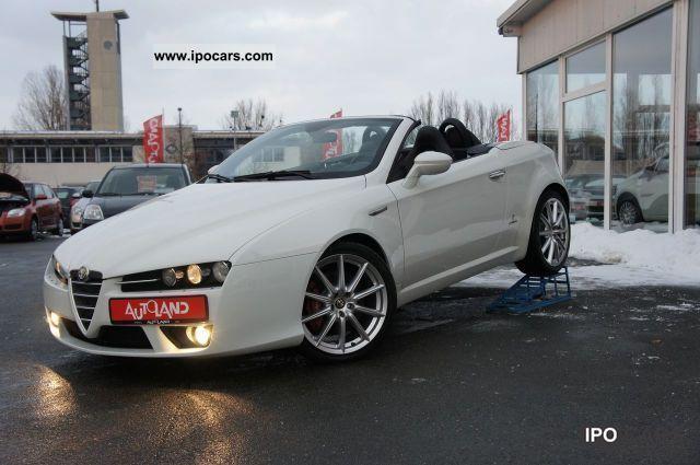 2008 Alfa Romeo  JTS 16V Spider 2.2i leather navigation xenon AAC Cabrio / roadster Used vehicle photo