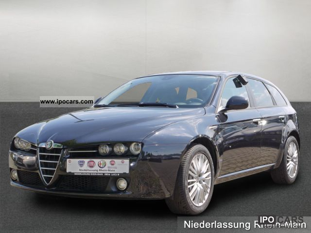 2009 alfa romeo 159 sportwagon 2 4 jtdm 20v series 1 navi car photo and specs. Black Bedroom Furniture Sets. Home Design Ideas