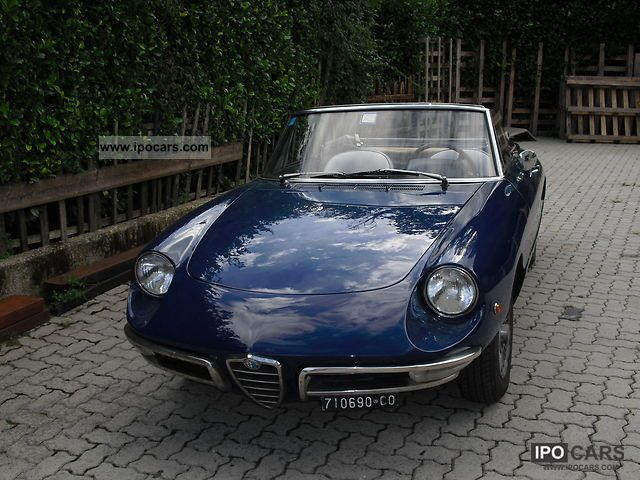 Alfa Romeo  Spider Duetto 1969 Vintage, Classic and Old Cars photo