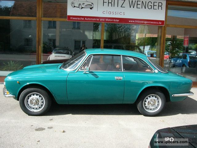 Alfa Romeo  1300 GT Junior L-nice, restored condition 1976 Vintage, Classic and Old Cars photo