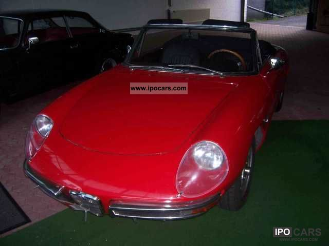 Alfa Romeo  Spider Duetto 1750 1970 Vintage, Classic and Old Cars photo