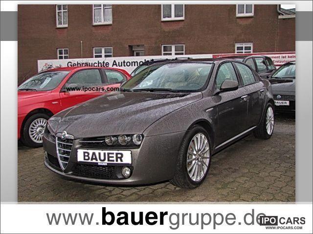 2008 Alfa Romeo  159 2.2 JTS Distinctive 16V (xenon leather) Limousine Used vehicle photo