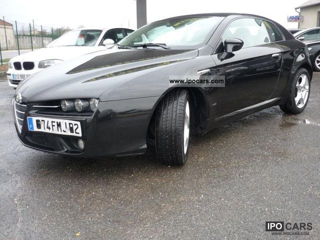 2008 alfa romeo brera 2 4 jtdm 210 sky view noir 2008 toit pano car photo and specs. Black Bedroom Furniture Sets. Home Design Ideas