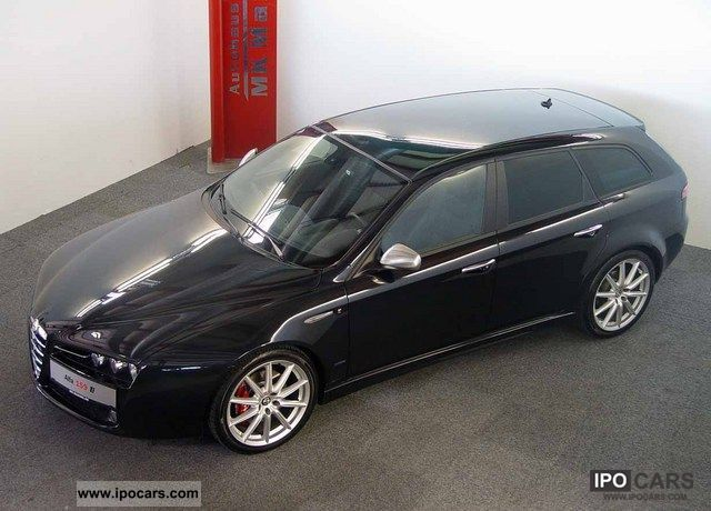 2008 alfa romeo 159 sw 1 9 sport ti 19 inch colour navi xenon top car photo and specs. Black Bedroom Furniture Sets. Home Design Ideas