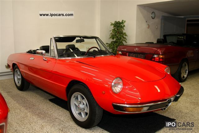 Alfa Romeo  Spider 2000 1979 Vintage, Classic and Old Cars photo