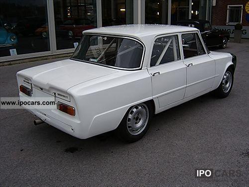 1967 alfa romeo giulia 1300 cars car photo and specs. Black Bedroom Furniture Sets. Home Design Ideas