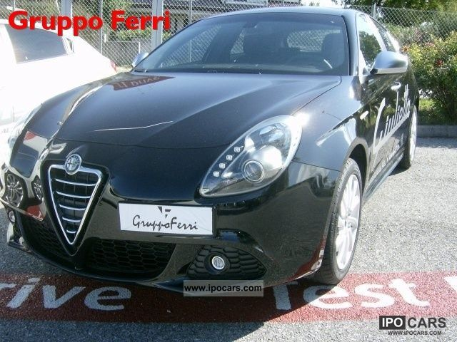 2011 Alfa Romeo  Giulietta 2.0 JTDm 140CV-2 Dist Km.0 Limousine Pre-Registration photo
