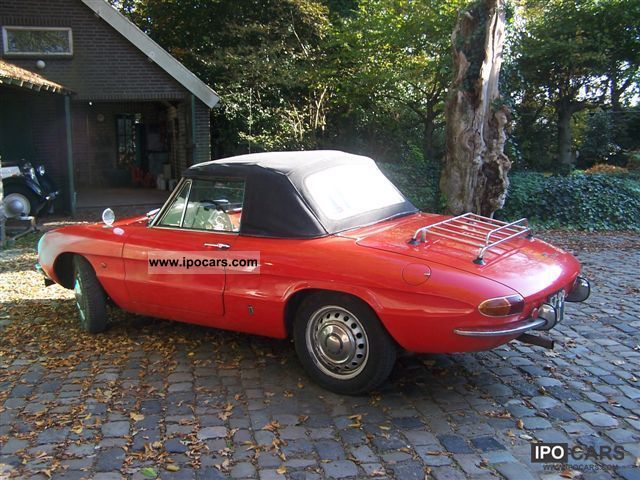 Alfa Romeo  Spider 1966 Vintage, Classic and Old Cars photo