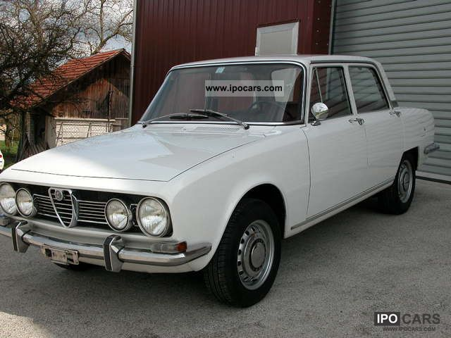 Alfa Romeo  Berlina 1750 1968 Vintage, Classic and Old Cars photo