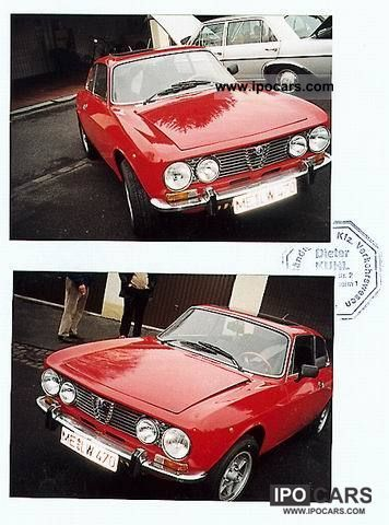 Alfa Romeo  GTV 1976 Vintage, Classic and Old Cars photo