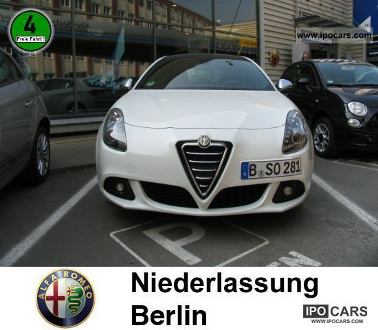 2010 Alfa Romeo Giulietta 1.6 JTDM 16V NAVIGATION - Car Photo and ...