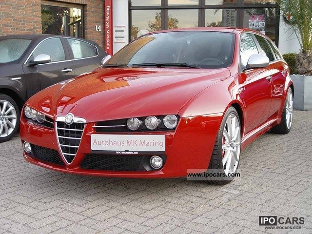 2010 alfa romeo 159 sw 2 0 jtdm ti sport navi great bose leather car photo and specs. Black Bedroom Furniture Sets. Home Design Ideas