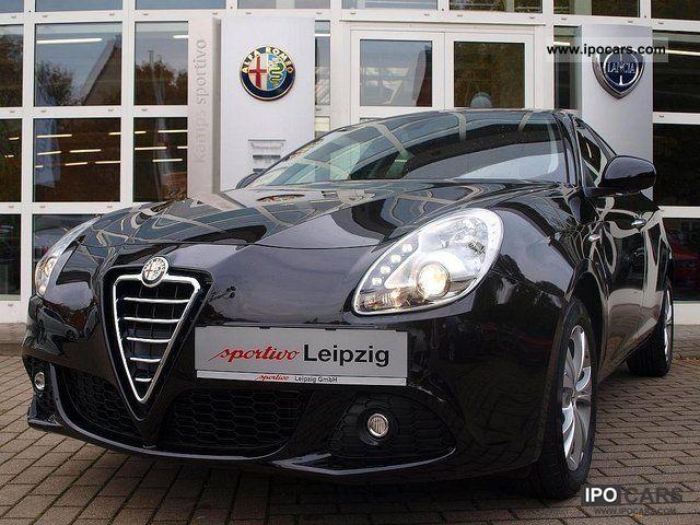2012 Alfa Romeo  Giulietta 1.6 JTDM 105 bhp Turismo Limousine Demonstration Vehicle photo