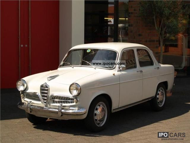 Alfa Romeo  Giulietta * 750c * 1957 Vintage, Classic and Old Cars photo