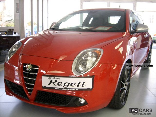 2011 Alfa Romeo  Mito 1.4 16V QV MultiAir Special Model 101 Small Car New vehicle photo