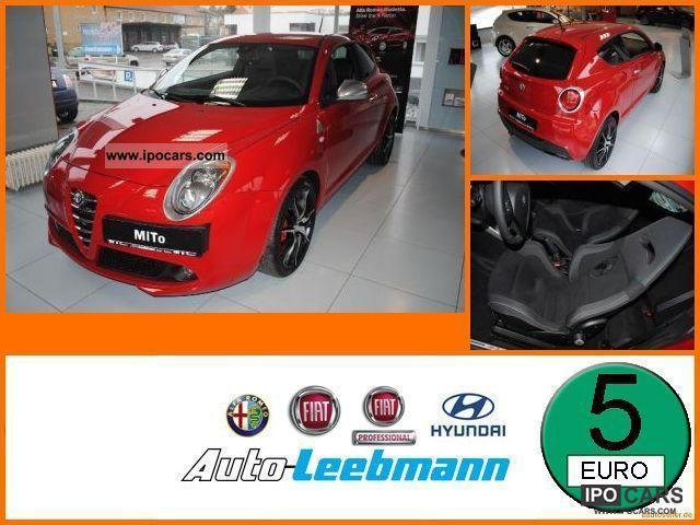2012 Alfa Romeo  Mito 1.4 16V QV 101 MultiAir Sabelt Rennsportsit Small Car Pre-Registration photo