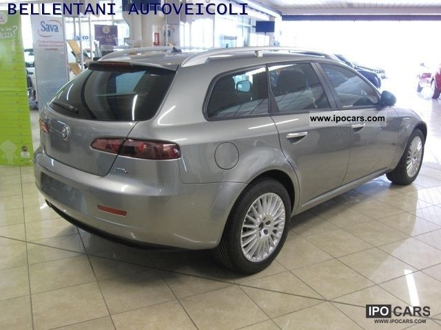 2009 alfa romeo 159 sw 2 0 jtdm progression 5 car photo and specs. Black Bedroom Furniture Sets. Home Design Ideas