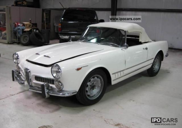 1961 Alfa Romeo  2000 Touring Spider Cabrio / roadster Classic Vehicle photo