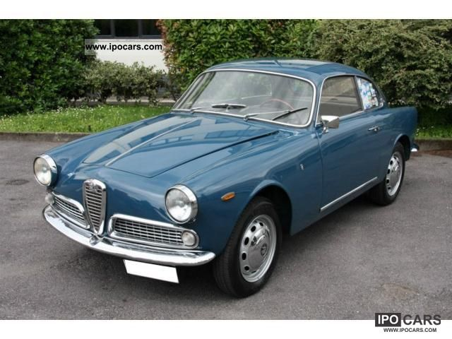 Alfa Romeo  Giulietta Sprint 1300 (101.02) 1965 Vintage, Classic and Old Cars photo