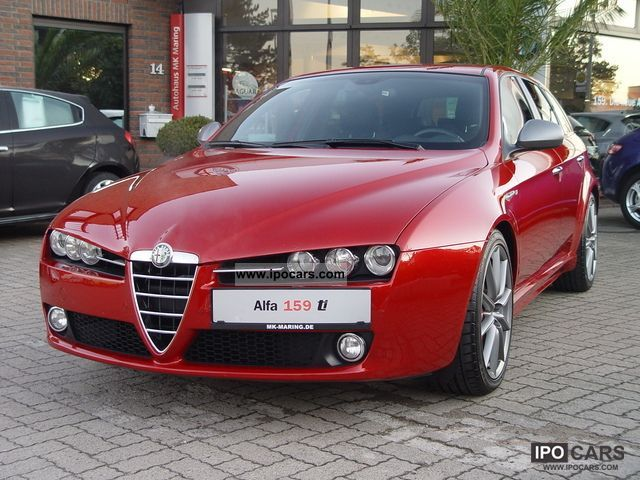 2010 alfa romeo 159 sw 2 0 jtdm 125kw sport ti 8c red colour navi car photo and specs. Black Bedroom Furniture Sets. Home Design Ideas