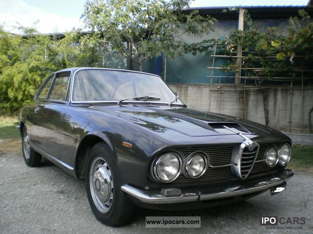 Alfa Romeo  2600 Bertone Sprint years1965 1965 Vintage, Classic and Old Cars photo