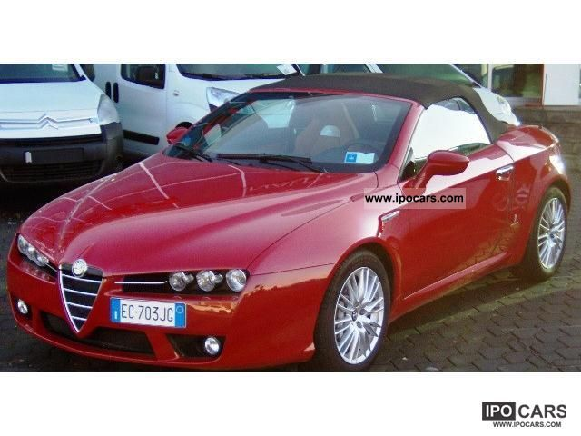 2010 Alfa Romeo  Spider 1.7 TBI 200cv Cabrio / roadster Used vehicle photo