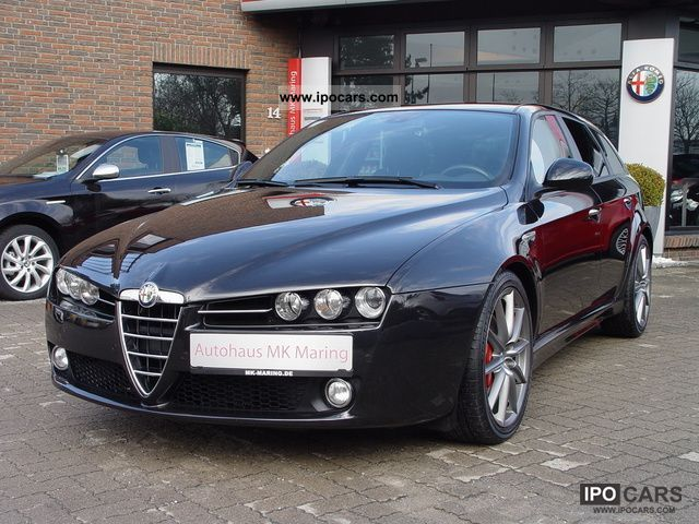 2010 alfa romeo 159 sw 2 4 ti sports management aut f1. Black Bedroom Furniture Sets. Home Design Ideas