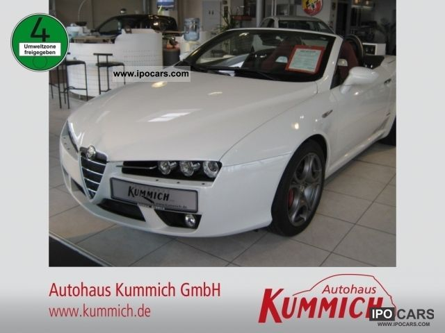 2011 Alfa Romeo  Series 1 Spider 2.2 JTS 16V Cabrio / roadster Demonstration Vehicle photo