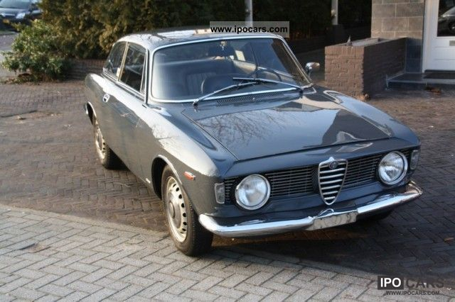 Alfa Romeo  GT 1600 1964 Vintage, Classic and Old Cars photo