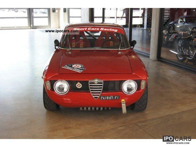Alfa Romeo  GT Sprint GT Veloce - racecar - new HTP Wage 1966 Race Cars photo