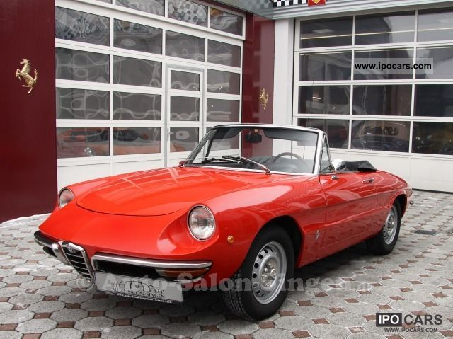 Alfa Romeo  Veloce Spider Veloce 1750 / Round Rear 1970 Vintage, Classic and Old Cars photo
