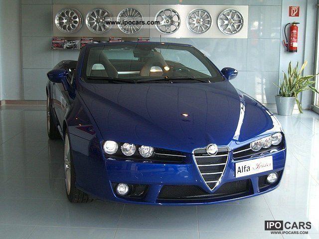 2011 Alfa Romeo  Spider 1.8 16V TBi - leather, xenon, 19 inch u.v Cabrio / roadster Demonstration Vehicle photo
