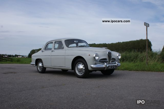 Alfa Romeo  1900 Super 1958 Vintage, Classic and Old Cars photo