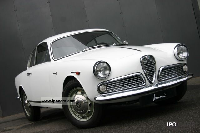 Alfa Romeo  1300 Giulietta Sprint 1960 Vintage, Classic and Old Cars photo