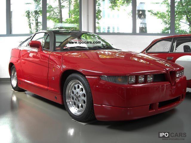 1991 Alfa Romeo  ES 30 Zagato Coupé special series 999 built Sports car/Coupe Used vehicle photo