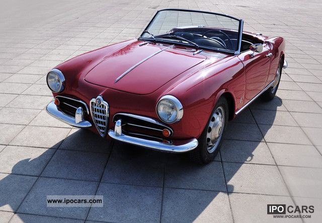 Alfa Romeo  Giulietta 1957 Vintage, Classic and Old Cars photo