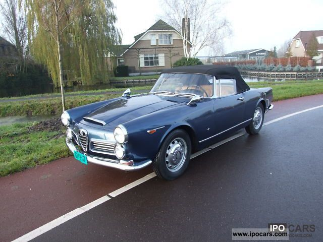 1964 Alfa Romeo  2600 Spider Touring Cabrio / roadster Classic Vehicle photo