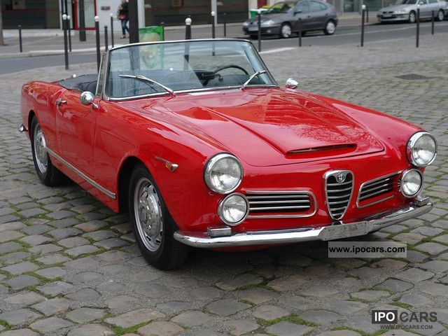 1964 Alfa Romeo  2600 Touring Spider Cabrio / roadster Used vehicle photo