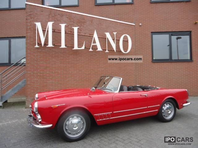 Alfa Romeo  Spider 1961 Vintage, Classic and Old Cars photo