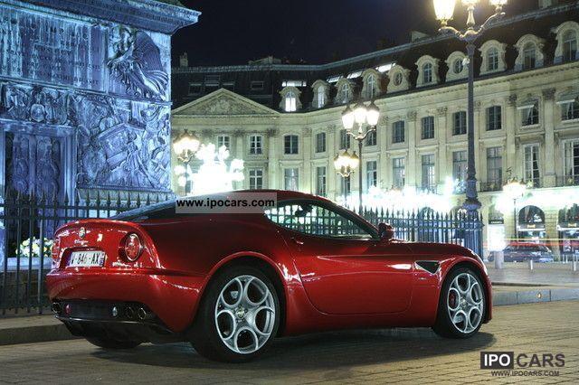 2008 Alfa Romeo  8C Sports car/Coupe Used vehicle photo